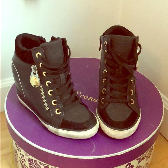 0308cf9a796b Aldo shoes aalessa wedge sneakers poshmark jpg 580x580 Aldo red wedge  sneakers